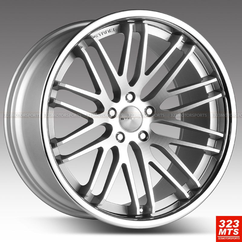 20 STANCE EVOLUTION BMW E66 745 750 760 CONCAVE STAGGERED WHEELS